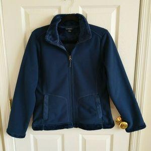 Lands End Womens S Fleece Jacket Coat Small